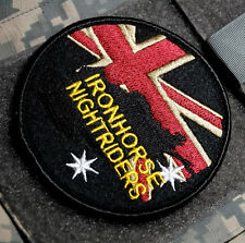 JSOC JOINT SP OPS COMMMAND TASK FORCE burdock SSI: UK IRON HORSE NIGHTRIDERS APU