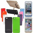 Battery Charger Power Bank Case For iPhone 4 4s 5 5s 6 6s Plus/Samsung S6/LG G3