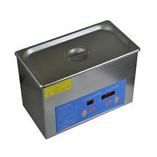 1 Gallon Stainless Steel Digital Heated UltraSonic Cleaner Ultra Sonic Heater