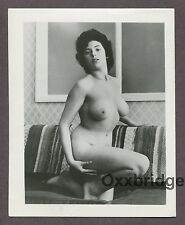 Big Full Chest Girl Breasts Boobs 1950 ORIGINAL VINTAGE NUDE PINUP PHOTO B723