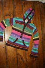 EUC BOUTIQUE EURO BRAND 10 NOLITA POCKET Striped hooded sweater soft
