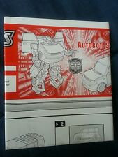 TRANSFORMERS ALTERNATORS AUTOBOT SKIDS INSTRUCTION BOOKLET ONLY FREE S/H