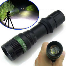 5000Lumen Zoomable CRE LED Flashlight Torch Zoom Light Adjustable OY