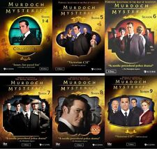 Murdoch Mysteries: The Complete Series Seasons 1-9 DVD Set - Brand New