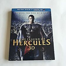 The Legend of Hercules 3D Blu-Ray (3D+2D) W/Embossed Slipcover! Mint Condition!