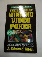The Basics of Winning Video Poker by J. Edward Allen casino gambling how-to book