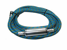 "RDG 3 METER AIRBRUSH BRAIDED HOSE WITH WATER TRAP 1/8"" - 1/8"" BSP COMPRESSOR"