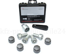Genuine Audi Anti-theft locking wheel nuts bolts COMPLETE SET 4F0071455 A5 A6