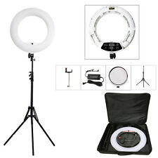 Yidoblo FD-480II  Dimmable LED Ring Light + Protable Stand +bag for Video Studio