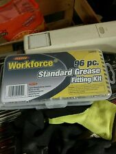 LEGACY WORKFORCE 96PC STANDARD GREASE FITTING KIT L5950