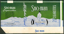 Philippine SNO-MAN Cigarette Label 2