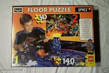 1997 LEGO Space 3-D Plus Floor Puzzle Space Scene Play Mat Toy RoseArt 08098
