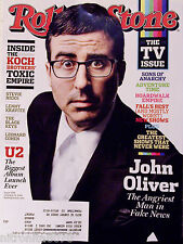 JOHN OLIVER ANGRY MAN IN NEWS ISSUE 1219 OCTOBER 9, 2014 ROLLING STONE MAGAZINE