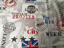 Außergewöhnliches Kunstleder Meterware England (London) Edition 145cm breit