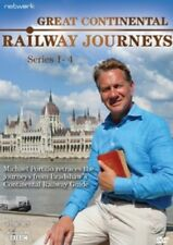 Great Continental Railway Journeys Series 1 + 2 + 3 + 4 Season Four New DVD