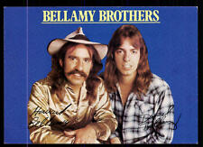 Bellamy Brothers Autogrammkarte TOP ## BC 54884  D