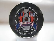 1996 Stanely Cup Championship puck