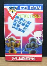 PICTURE PUZZLE - MSX ROM - HAL LABORATORY INC. NUOVO NEW OLD STOCK 1983 Vintage