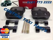 LTI TAXI FAIRWAY DRIVER BRAND NEW MINTEX FRONT BRAKE PADS AND PIN KIT