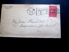 1904 U.S. #324 on Cover, Nice Cleveland Oh Flag cancel