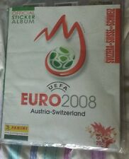 Panini Euro 2008 sticker set + album Swiss edition