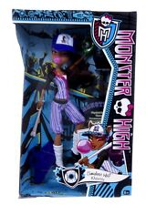 Nuevo oficial Monster High Clawdeen Wolf Sports Set Accesorios Muñeca
