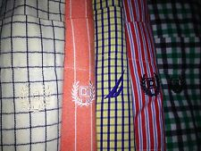 NICE LOT 5 MENS RALPH LAUREN CHAPS  NAUTICA BUTTON DOWN LONG SLEEVE SHIRT L