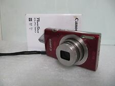 Canon IXUS 180 20.0 MP Digital Camera - Red .....