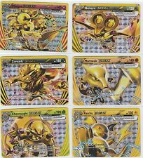 6x LOT Pokemon BREAKTHROUGH Break Lot FLORGES RAICHU MAROWAK NOIVERN ZOROARK Etc