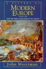 A History of Modern Europe Volume 2 by John Merriman