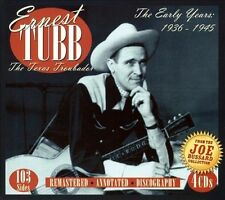 Ernest Tubb    box set 4 CDs  FREE Shipping    Country Music Hall of Fame