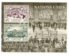UN Geneva 1990 50th anniv minisheet mint