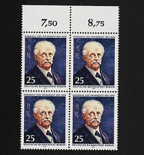 1971 germany Berlin Sc#9N314 Mi#401 Numeral Margin Block of 4 Mint Never Hinged