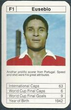 BOBBY CHARLTON'S WORLD CUP ACES-1977-78-F1-BENFICA & PORTUGAL-EUSEBIO