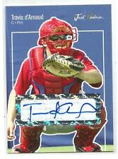 2007 Just Minors Travis d'Arnaud Rookie Autograph Card Auto RC Mets CATCHER