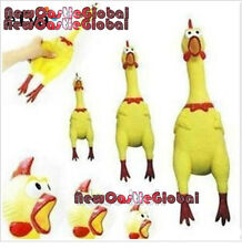 "new 6.29"" gag gift screaming rubber chicken bachelor party dog chew squeak toy"