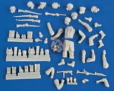 Verlinden 1/35 Figure Conversion Parts : German Paratrooper Fallschirmjäger 2123