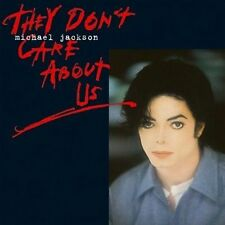 They Don't Care About Us Michael Jackson MUSIC CD