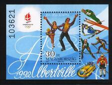 HUNGARY - 1991. S/S - Winter Olympic Games,Albertville/Figure Skating MNH!Bl.219
