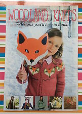 Woodland Knits Friends Knitting Pattern Booklet 7 Designs
