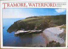 Irish Postcard TRAMORE Co WATERFORD Ireland Newtown Cove Beach Hinde 1999 4x6