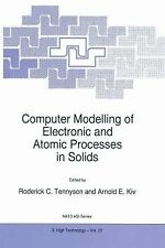 Computer Modelling of Electronic and Atomic Processes in Solids (NATO Science Pa