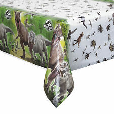 "54""x84"" Jurassic World Park Children's Birthday Party Plastic Table Cover"