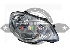 VOLKSWAGEN POLO 9N HEAD LIGHT RIGHT HAND SIDE 11/2005 - 02/2010