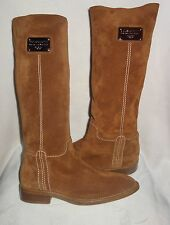 dolce gabbana via san damiano suede riding boots sz 40 new
