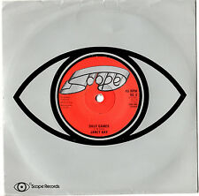 "JANET KAY - SILLY GAMES / DANGEROUS - NORTHERN SOUL 7"" 45 VINYL RECORD 1979"