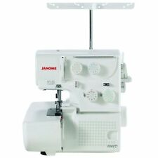 Janome 8002D (3 & 4 Thread) Portable Serger Overlock Machine W/ Free Bonus