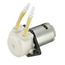 DC 12V-D2 Mini Peristaltic Dosing Pump ID2mm For Lab Water Analytical Liquid