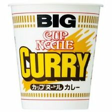 1BOX Japanese noodles ramen Nissin BIG!(120g) CURRY Cup Noodle 12pcs