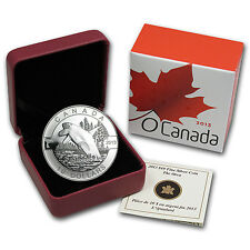 2013 1/2 oz Silver Canadian $10 O'Canada Series - Orca - Box and Certificate